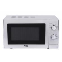 Микроволновая печь Beko с грилем MGC20100S - 20л./700Вт СВЧ + 800Вт гриль/механика/серебро (MGC20100S)