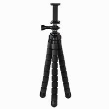 """Міні-штатив НАМА """"Flex"""" для смартфонів і GoPro, 26 см, колір чорний (00004613)"""