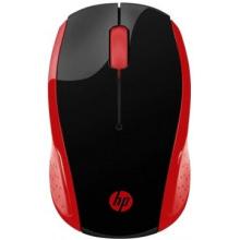 Миша HP Wireless Mouse 200 Red (2HU82AA)