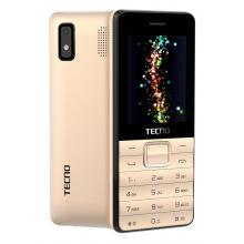 Мобильный телефон Tecno T372 Triple SIM Champagne Gold (4895180746840)