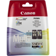 Multi Pack Canon PG 510 и CL511 Набір Картриджів (2970B010)