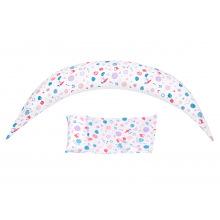 Набір аксесуарів для подушки Nuvita DreamWizard (наволочка, міні-подушка) Білий NV7101White (NV7101WHITE)