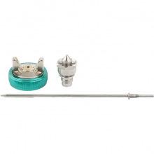 Набір для фарборозпилювача AG950LVLP і AS951LVLP: сопло 1.7 мм, голка, чашка,  Stels (MIRI57345)
