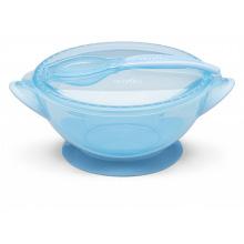 Набір для годування дорожній Nuvita COOL 6м+ Синій NV1421COOLBlue (NV1421COOLBLUE)