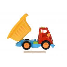 Набор для игри с песком Same Toy 11 од. грузовик червона кабіна / жовтий кузов  (968Ut-1)