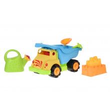 Набор для игри с песком Same Toy 6 од. грузовик жолтый  (973Ut-2)