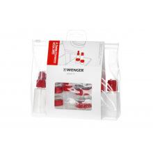 Набір ємностей для подорожей, Wenger Bottle Set 10  psc, прозорий (604548)