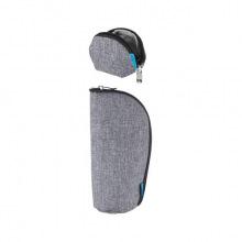 Набор (кошелек, чохол для пустышки) MyMia серый (NV8806GREY)