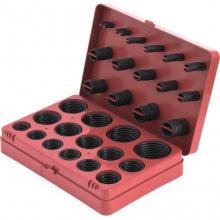 Набір гумових ущільнюючих прокладок, D 7 - 53 мм, 404 предметів,  СИБРТЕХ (MIRI47597)