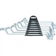 Набір ключів накидних, 6–22 мм, 8 шт, хромовані,  SPARTA (MIRI153755)
