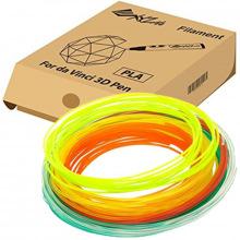 Набір ниток 1.75мм PLA для ручки 3D XYZprinting (6 кольорів) (RFPLDXTW00H)