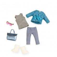 Набор одежды для кукол LORI голубое пальто (LO30005Z)