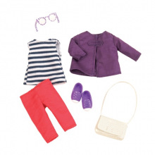 Набор одежды для кукол LORI Просте красивое пальто  (LO30011Z)