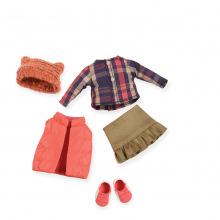 Набор одежды для кукол LORI пуховый жилет  (LO30004Z)