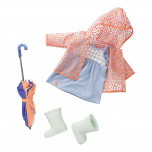 Набор одежды для кукол Our Generation Deluxe дождевик  (BD30295Z)