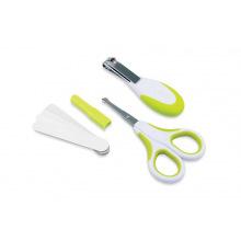 Набор по уходу за ребенком Nuvita 0м+ Салатовий Безопасные ножницы с акс.(NV1138Lime)