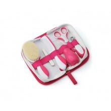 Набір по догляду за дитиною Nuvita Великий 0м+ Рожевий  (NV1136Pink)