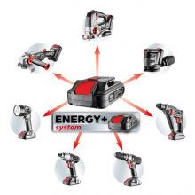 Набір акумуляторного інструменту Graphite Energy + 18 В, Li-Ion 2,0 Ач, зарядний пристрій (58G016)