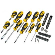 Набор инструментов Stanley 48 шт. отвертки и головки в сумке (3x75; 5x100; 6x38; 6x100; 8x150; Ph: 0x75; 1x (STHT0-70887)