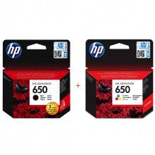 HP 650 Black + HP 650 Color Набор Картриджей (Set650)