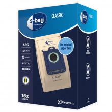 Мешки Electrolux для пылесоса E200SM S-Bag Classic 3 л, 15 шт (E200SM)