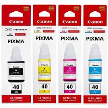 Набор оригинальных чернил Canon GI-40 (SET40C)