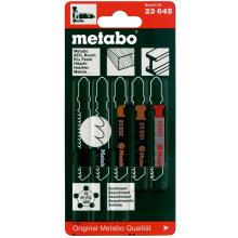 Набор пилок Metabo лобзиковых 5 шт. (623645000)