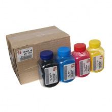 Набір тонера АНК 85г Black (Чорний), Cyan (Синій), Magenta (Червоний), Yellow (Жовтий) 150319