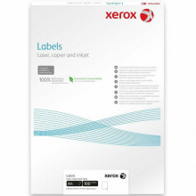 Наклейка Xerox универсальная 14 шт на листе 105мм x 42.3мм, А4, 100л (003R97455)