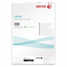 Наклейка Xerox Mono Laser 2UP (squared) 210x148.5mm 100л. (003R97401)
