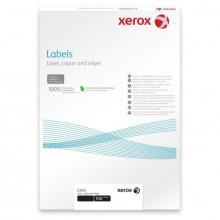 Наклейка Xerox Mono Laser 65UP (rounded) 38.1x21.2 мм 100л. (003R93177)