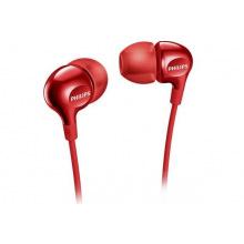 Наушники Philips SHE3555 Mic Red (SHE3555RD/00)