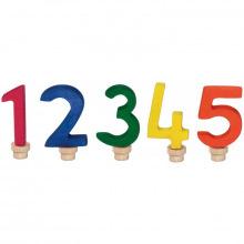 Набор цифр для торта Nic праздничный 1-5  (NIC522951)