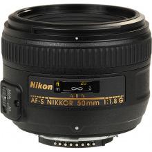 Об'єктив Nikon 50 mm f/1.8G AF-S NIKKOR (JAA015DA)