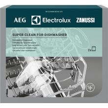 Обезжириватель Electrolux для посудомоечных машин, 2 саше x 100 гр (M3DCP200)
