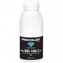 Тонер PRINTALIST для OKI универсальный 100г Cyan (Синий) (OKI-100-C-PL)