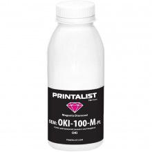 Тонер PRINTALIST для OKI универсальный 100г Magenta (Красный) (OKI-100-M-PL)