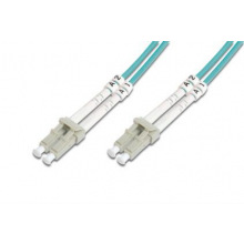 Оптический патч-корд DIGITUS LC/UPC-LC/UPC, 50/125, OM3, duplex, 15m (DK-2533-15/3)