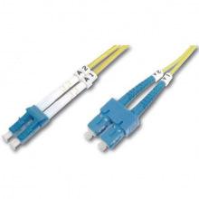 Оптический патч-корд DIGITUS LC/UPC-SC/UPC, 9/125, OS2, duplex, 1m (DK-2932-01)
