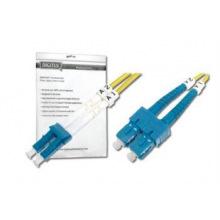 Оптический патч-корд DIGITUS LC/UPC-SC/UPC, 9/125, OS2, duplex, 2m (DK-2932-02)