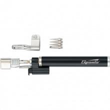"""Пальник газовий, тип """"Олівець"""" з підпалом + 4 насадки для пайки, 200 мм  SPARTA (MIRI914325)"""