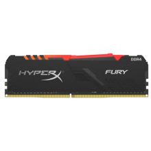Оперативна пам'ять для ПК Kingston DDR4 3200 8GB HyperX Fury RGB (HX432C16FB3A/8)