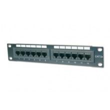 """Патч-панель DIGITUS 10"""" 1U, 12 портов, Cat.5e UTP в сборе (DN-91512U)"""
