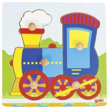 Пазл-вкладыш goki Поезд (57551G)