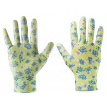 """Перчатки Verto садовые, нитриловое покрытие, размер 8"""" (97H141)"""