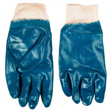 Перчатки Topex рабочие, х / б с нитриловым покрытием, размер 10.5 (83S201)