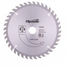 Пильний диск по дереву 180 х 22 мм, 40 зубців,  SPARTA (MIRI732425)