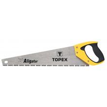 """Пила Topex по дереву, 450 мм, """"Aligator"""", 7TPI (10A446)"""