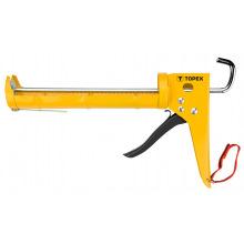 Пистолет Topex для герметиков трещетка (21B235)