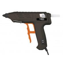 Пистолет клеевой Neo, 11 мм, 80 Вт, регулировки температуры (17-082)